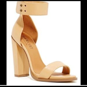 Show cult by Nasty Gal block heel sandal size 7.5